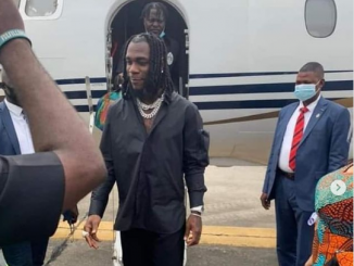 Burna Boy is greeted with a standing ovation as he returns to his home state of Rivers after winning the Grammy award.